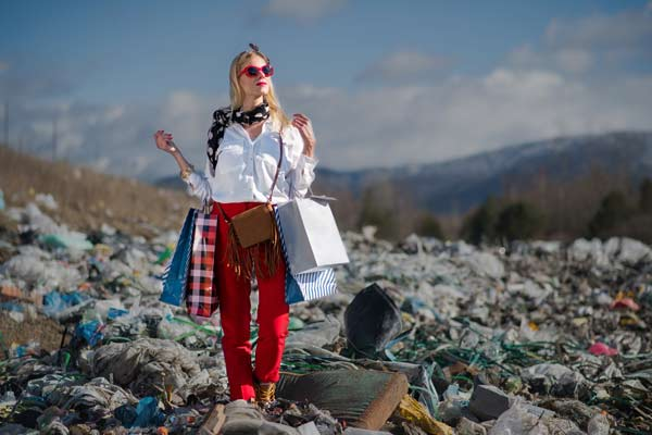 pollution by fashion Industry