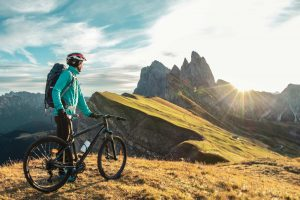 Outdoor bicycling with Merino Cloth
